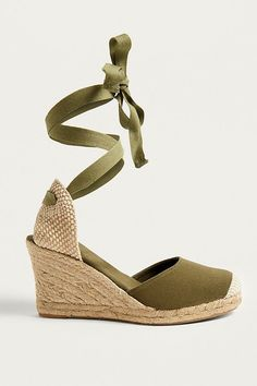9a924952bd2 Slide View: 1: UO Erin Espadrille Wedge Sandals Wedge Sandals, Espadrille  Wedge,