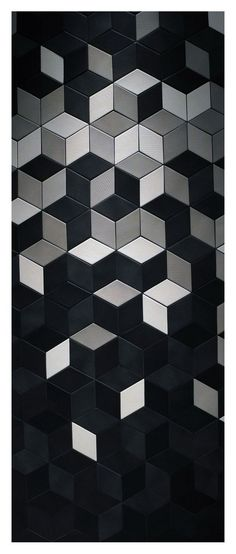 Find This Pin And More On Geometric Patterns Square Designs Texture Etcblack White Floor Lamp Black Mosaic Tile Bathroom Floor Patterns, Wall Patterns, Textures Patterns, Geometric Patterns, Floor Design, Tile Design, Pattern Texture, Motifs Textiles, Beton Design