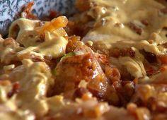 Mundéros csuka   Gasztroangyal Hungarian Recipes, Hungarian Food, Fish Dishes, Cauliflower, Seafood, Mango, Beef, Chicken, Fruit
