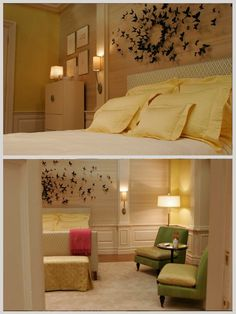 Though I love Blair Waldorf waaaay more than Serena V.D.W., I prefer her room. Butterflies! My favorite. <3 I'd love to try this once I have my own room.