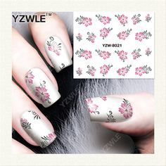 YZWLE 1 Sheet DIY Decals Nails Art Water Transfer Printing Stickers Accessories For Manicure Salon   YZW-8021♦️ SMS - F A S H I O N 💢👉🏿 http://www.sms.hr/products/yzwle-1-sheet-diy-decals-nails-art-water-transfer-printing-stickers-accessories-for-manicure-salon-yzw-8021/ US $0.09