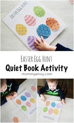 Easter Egg Hunt Collage
