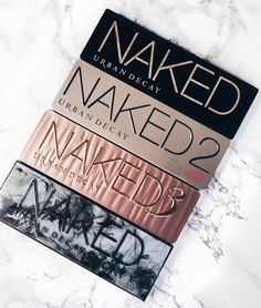 Urban Decay Naked Palette 1,2,3& Smokey eyeshadow - £38.50 http://amzn.to/2tGFV5R