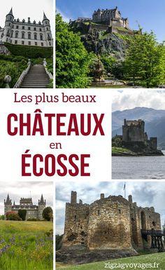 Découvrez les plus beaux châteaux en Ecosse – les châteaux contes de fees, les plus impressionnants, les plus étranges, les plus beaux parcs… il n'y a plus qu'à choisir pour établir votre itinéraire ! | Voyage Ecosse | Ecosse Paysage