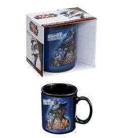 Mug Porcelaine The Empire Strikes Back avec sa Boîte Cadeau - Star wars Taza Star Wars, Cadeau Star Wars, The Empire Strikes Back, Tableware, Empire, Mugs, Games, Poster, Drawings