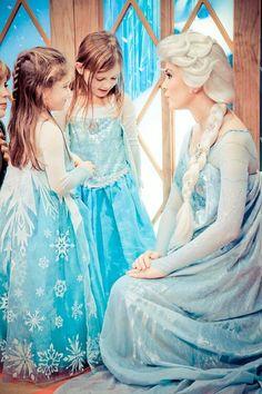 Elsa (Mini-Me at Disney World) #Frozen