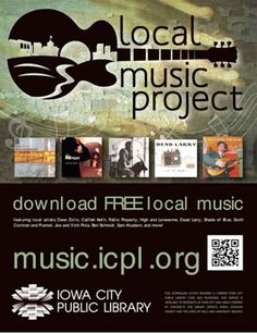 """Our feature on Iowa City Public Library's Local Music Project at Library BoingBoing 