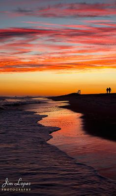 Sunset on Fire Island at Robert Moses State Park across from Long Island, New York • photo: Jim Lopes on 500px