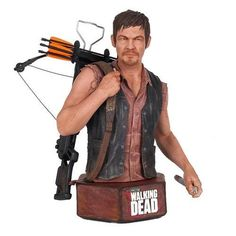 He will track you down. Straight from The Walking Dead TV series to your shelf, The Walking Dead Daryl Dixon Mini-Bust is a beautiful and intricate statue that stands 6 3/4-inches tall. It was digital