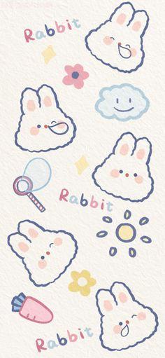 Cute Pastel Wallpaper, Soft Wallpaper, Couple Wallpaper, Bear Wallpaper, Kawaii Wallpaper, Wallpaper Iphone Cute, Cute Walpaper, Art Painting Gallery, Animal Doodles