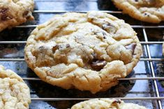 Classic Chocolate Chip Cookies recipe - bakery style cookies with crisp edges and a soft and chewy center.