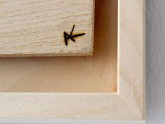 FO-Untitled (Detail) Wood 85 x 65 cm 2014