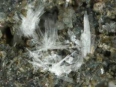 Hannebachite, 2CaSO3•(H2O), Hannebacher Ley, Hannebach, Niederzissen, Eifel, Rhineland-Palatinate, Germany. Fov 2.0mm. Copyright: © M. Burkhardt