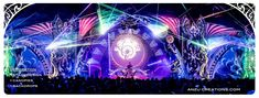 festival, stage design, projection mapping