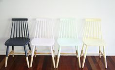 Inspiration - Dip-Dye Chairs