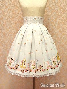 Lolibrary | Innocent World - Skirt - Little Lady Skirt (Short)