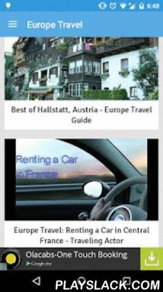 Europe Travel Attractions  Android App - playslack.com , European Travel attractions and top destinations. Videos from YouTube showing tourist attractions of Europe. This app will help you find many European destinations to plan your Europe tours. This is must app for all people who are planning to travel to Europe to understand about the place through awesome videos. So you can consider this app as a Europe travel guide free though it is just travel videos about Europe.It is obviously the…