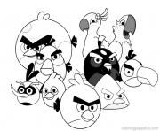 Print printable angry birds for children86d0 coloring pages