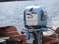 Our 1956 Evinrude.....fully restored and finally running !
