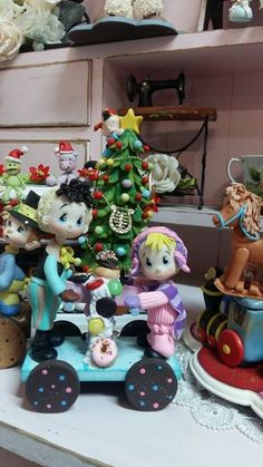 Trenecito navideño Atelierlulumendoza@hotmail.com