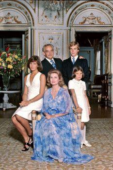 Familie Portrait Grace Kelly, 1974.