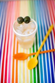 Signature Drink Ideas: Colorful Cocktail. Photo by Nancy Neil via Kelly Oshiro- Lover.ly