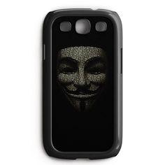 V For Vendetta Samsung Galaxy S3 Case