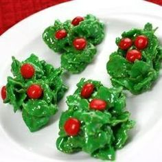 Cornflake Wreath Cookies Recipe.