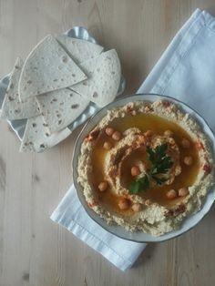 Tè verde e pasticcini: { Salse } - Hummus di ceci
