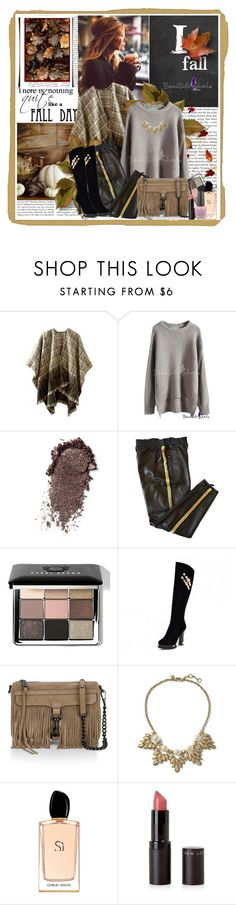 """Fall like leaves...."" by cindy88 ❤ liked on Polyvore featuring Emilio Pucci, Bobbi Brown Cosmetics, Rebecca Minkoff, Banana Republic, Giorgio Armani, OPI, bhalo and bhalo2"