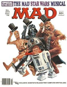 60 hilarious sci-fi spoof covers from 60 years of MAD magazine