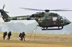 Indian Army Multirole Helicopter HAL Dhruv