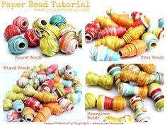 Design Dazzle: Paper Beads