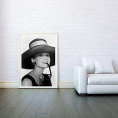 Audrey Hepburn breakfast at tiffany's Icon by VertigoAngle, $18.00