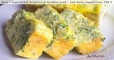 My Broccoli & Cheddar Keto Bread Recipe is a great breakfast, lunch, side dish, or snack. It preps in 5 min & has only 5 ingredients.