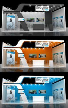 Eletromar - Construsul 2014 Mall Design, Kiosk Design, Sign Design, House Design, Exhibition Room, Exhibition Stall, Exhibition Stand Design, Stage Backdrop Design, Pixi