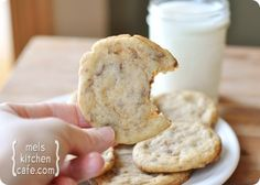 Heath Bar Cookies