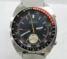 SEIKO 5 SPORTS◇SPEED TIMER 6139-6032