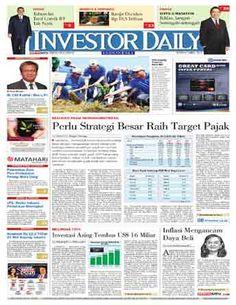 Investor Daily - 06 APRIL 2015   PERLU STRATEGI BESAR RAIH TARGET PAJAK   INVESTOR DAILY