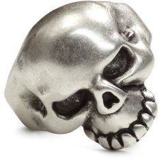 Skull Ring $5.99 ($5.99) via Polyvore featuring jewelry, rings, antique jewellery, antique skull ring, antique rings, metal rings and antique jewelry