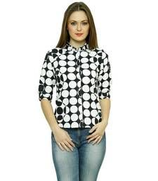 Buy women's casual printed shirt party-top online