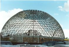 Omaha's Henry Doorly Zoo. This is the Desert Dome.
