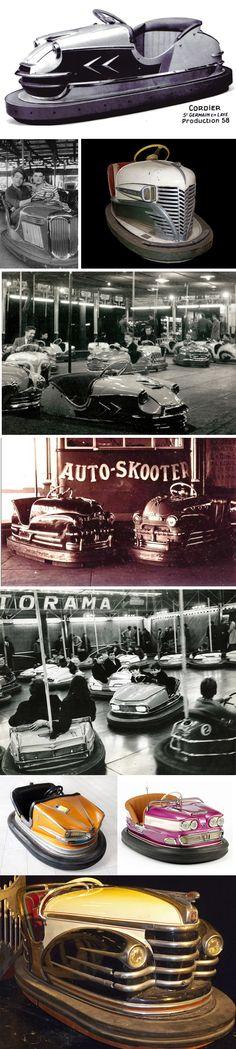 Vintage Bumper Cars