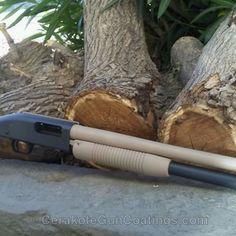 Mobile-friendly version of the 1st project picture. Sniper Grey, Mossberg, Shotgun, Mossberg Model 88, Desert Sand H-199Q, Sniper Grey H-234Q