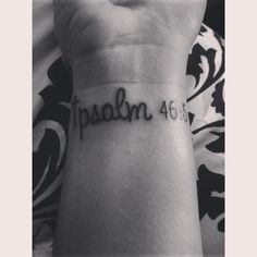 """Psalm 46:5 """"God is within her, she will not fall; He will lead her to break of day"""""""