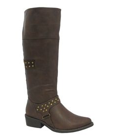Another great find on #zulily! Brown Kelsey Boot by Yoki #zulilyfinds