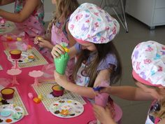 Photo 1 of 21: Cupcake Decorating Party / Birthday Abbies 6th Birthday | Catch My Party