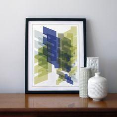 Vas Blue, Digital art (Other) by Leigh Bagley | Artfinder