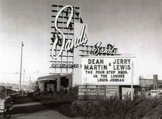 Martin and Lewis at the Sands: Las Vegas