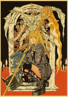 Death Note Posters Retro Posters - Q027 25